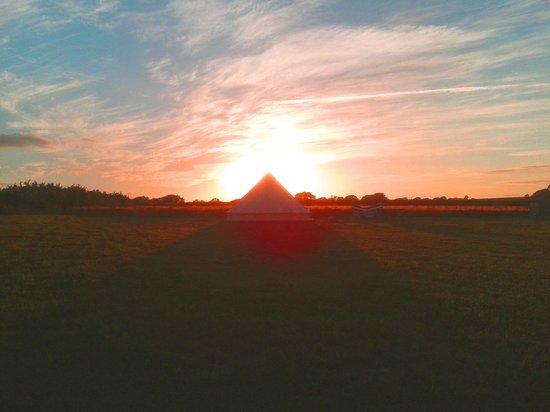Old Bidlake Farm: Sunset at Bidlake