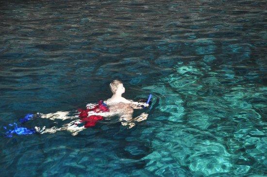 Multum Ha Cenote: Snorkeleando