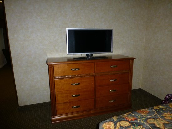Rushmore Express Inn & Family Suites: TV in bedroom