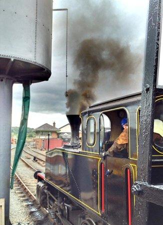 Downpatrick & County Down Railway: Steam Engine