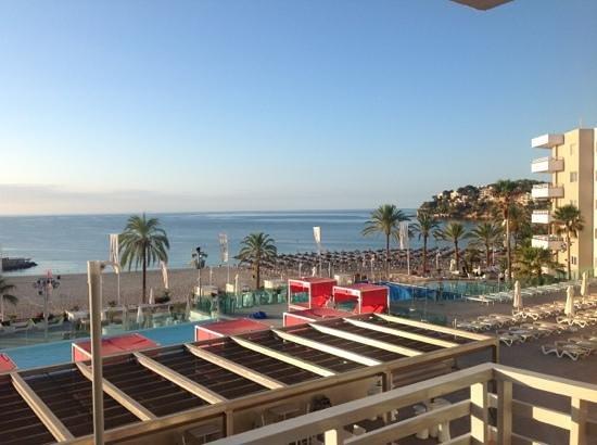 Sol Wave House Hotel: la vue