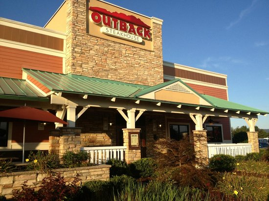 Outback Steakhouse Front Of Restaurant