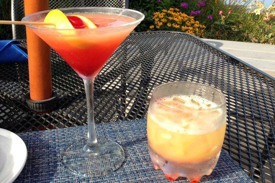 Dockside Restaurant on York Harbor: Fantastic drinks!