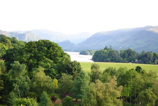 Crow Park Hotel Keswick : View from our room on the 4th floor, front of the hotel.
