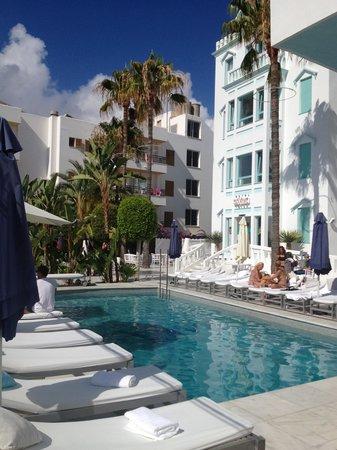 Hotel Es Vive: poolside