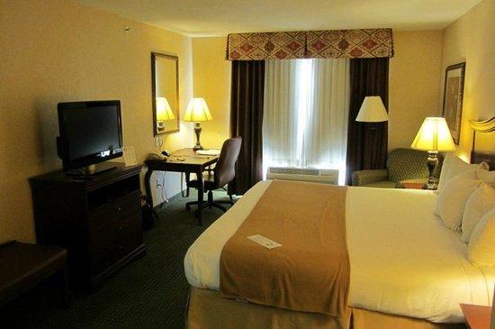 Holiday Inn Express & Suites Binghamton University-Vestal: King Bed