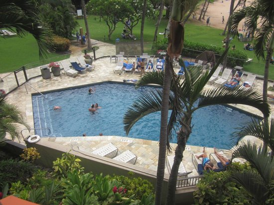 Mana Kai Maui: Pool from room 206