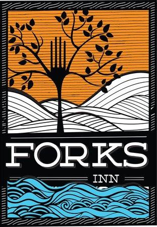 The Forks Restaurant & Inn: Logo and Sign