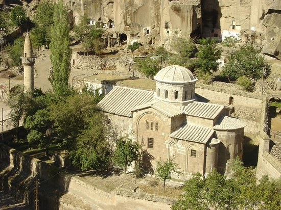 Guzelyurt, ตุรกี: st gregorius church kilise cami