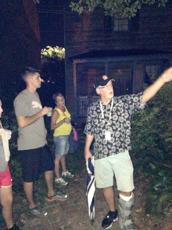 Savannah Hauntings Ghost Tour: Steve, Savannah native tour guide