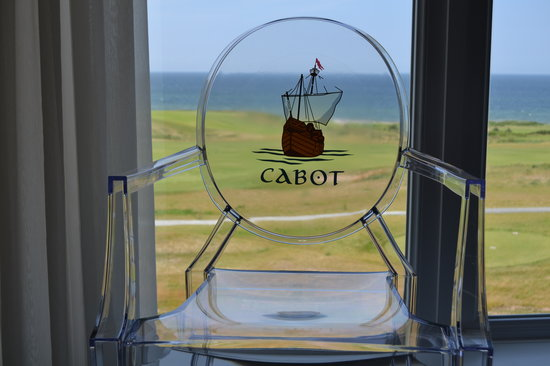 Cabot Links Resort: Window view