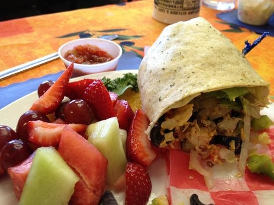 Heartland Kitchen and Cafe: Taco Wrap