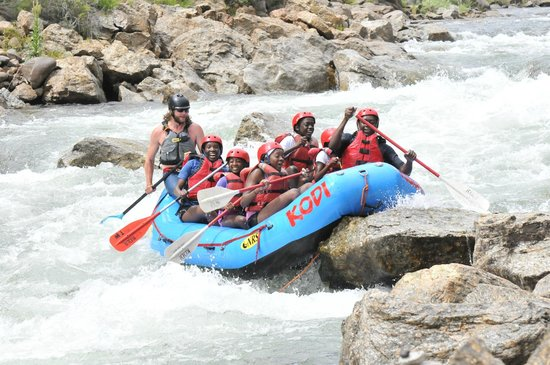 KODI Rafting in Colorado: Almost