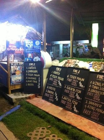 Grill House: alcuni menu