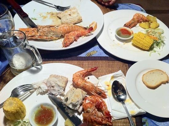 Grill House: aragosta,gamberoni,barracuda