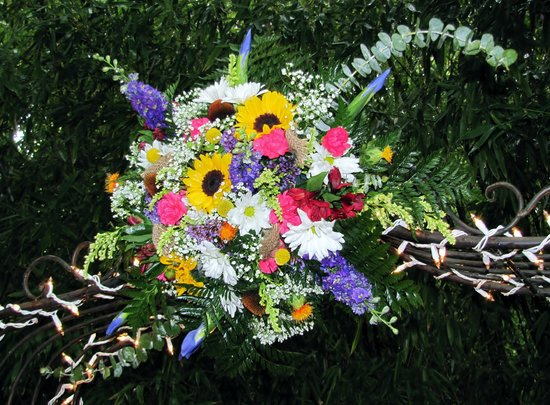 Crystal River Inn : Wedding Floral Arrangement