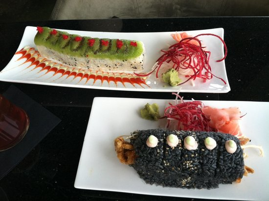 Amazing sushi & beautiful presentation! - Picture of Wild ...