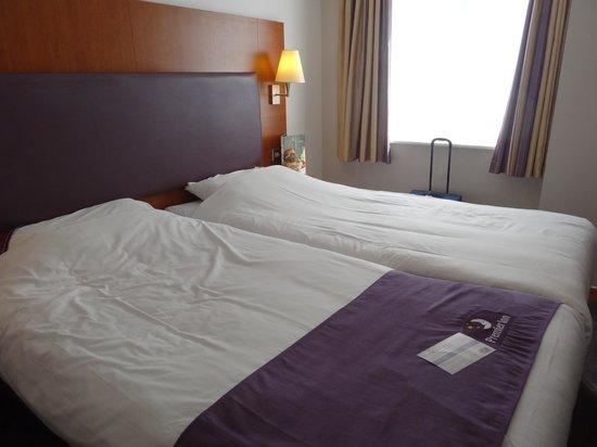 Premier Inn London Kings Cross Hotel : Bedroom