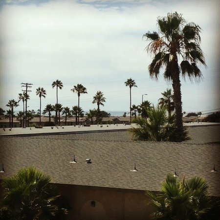 Holiday Inn Oceanside Camp Pendleton Area: View from my room (partial ocean view)
