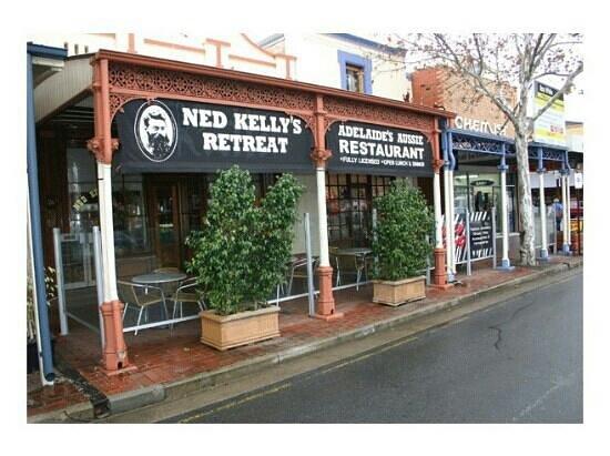 Ned Kelly's Retreat: Ned Kelly's