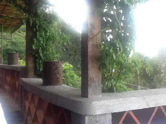 Casa Palopo : terraza