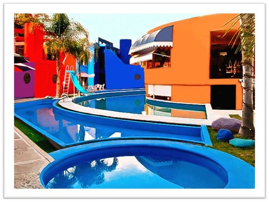 Hotel & Villas Partidor del Sol: Alberca jumbo semicircular