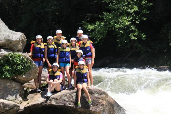 Wildwater Rafting - Chattooga : Baker Family Vacation Whitewater Rafting