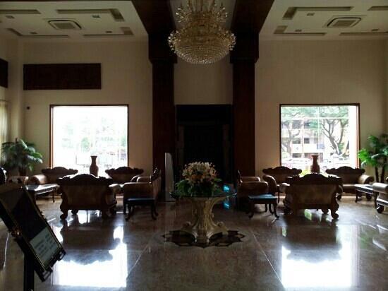 JC Residency Madurai : The reception area