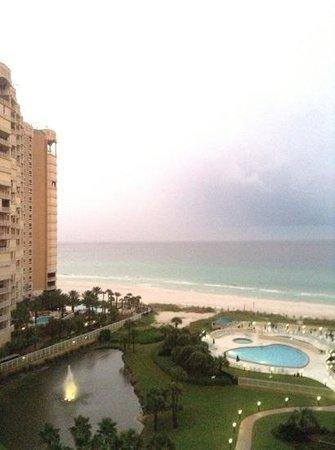 Edgewater Beach Condominium : rainy, but view from 1102