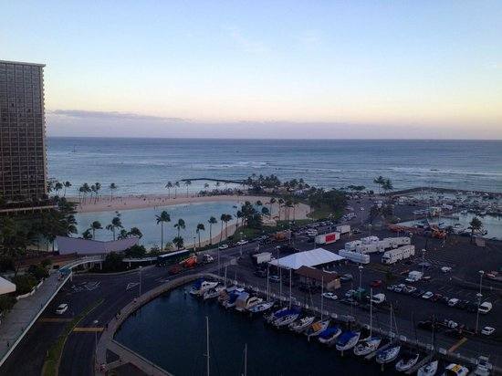 The Modern Honolulu: View from our suite