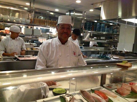 The Modern Honolulu: Morimoto Master Sushi Chef, Goto San