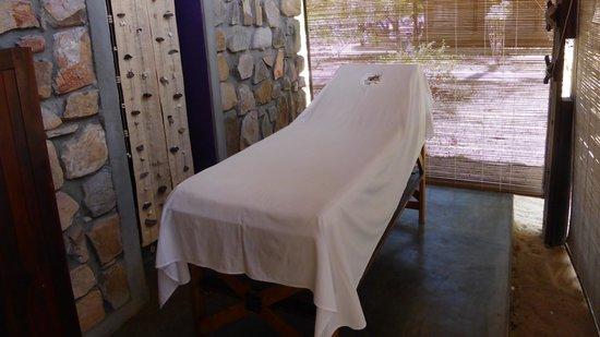 Eden Lodge: Salle de massage privée