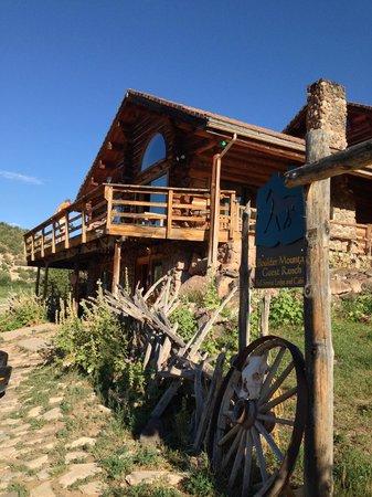Boulder Mountain Guest Ranch: Le Ranch (bâtiment principal)