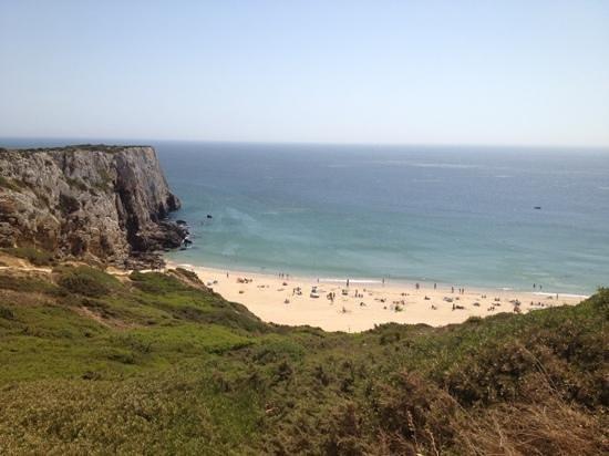Sagres, Portugal: Blick auf den Strand