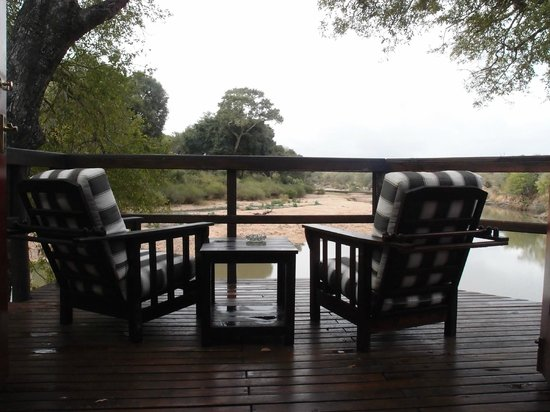 Hamiltons Tented Safari Camp: View from tent number 1