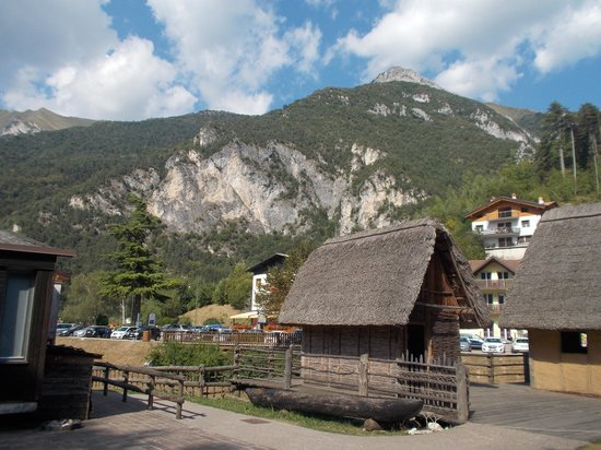 Museo delle Palafitte del Lago di Ledro: la palafitta ricostruita