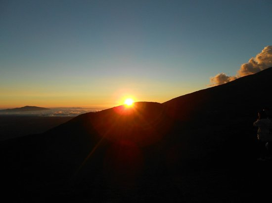 Maunakea Visitor Information Station : Beautiful sunset