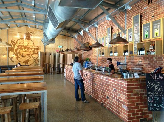 Cheeky Monkey Brewery and Cidery: Brewery
