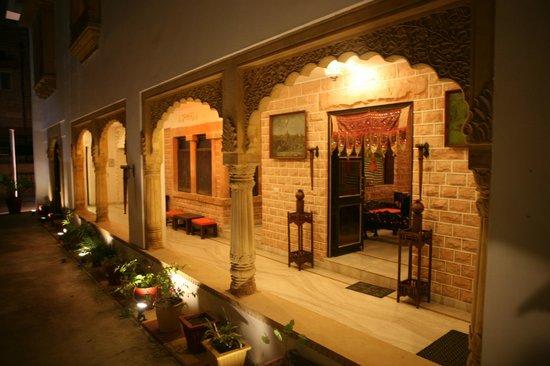 Hotel Megh Niwas : outlook