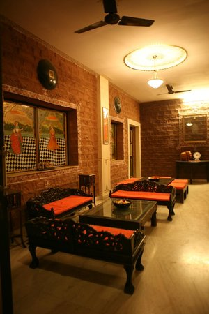 Hotel Megh Niwas : wifi area