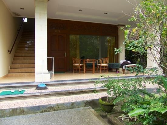 Abangan Bungalow: la chambre