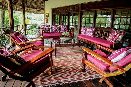 Anna of Zanzibar: Main veranda