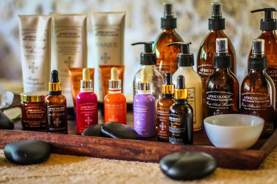 Anna of Zanzibar: Our Spa product line Africology