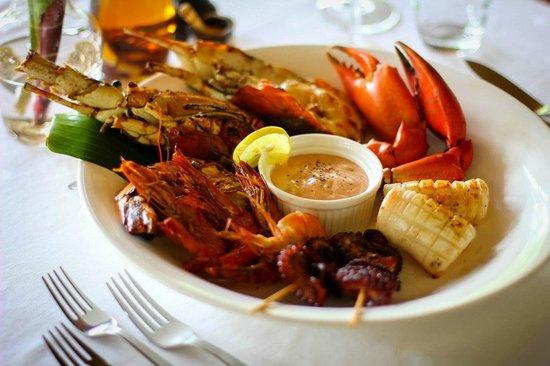 Anna of Zanzibar: The famous seafood platter