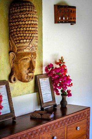 Anna of Zanzibar : Spa reception
