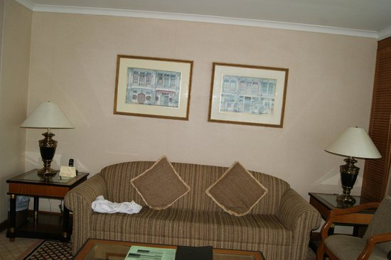 Le Grove Serviced Apartments : Living room