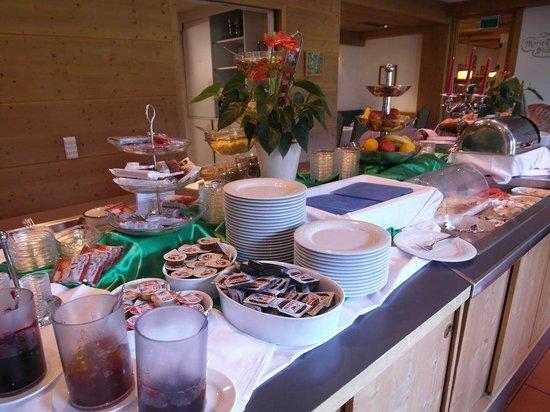 Rubner's Hotel Rudolf: Frühstücks- und Abendbuffet