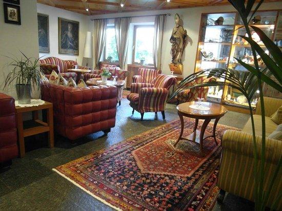 Rubner's Hotel Rudolf: Eingangsbereich