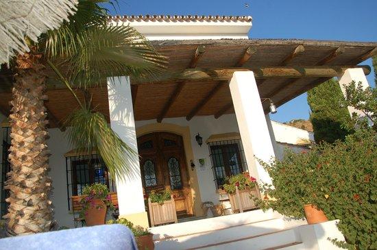Casa Domingo: heerlijk terras