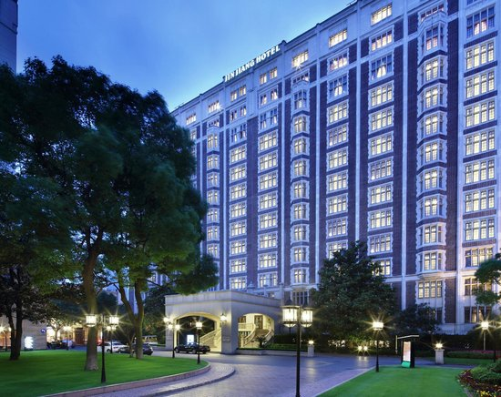Hotel Exterior - Picture of Jin Jiang Hotel, Shanghai ...